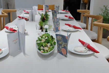 松尾摂子さんの器でクリスマスパーティ ~フードクラス&ブラッシュアップBクラス_d0217944_17455081.jpg