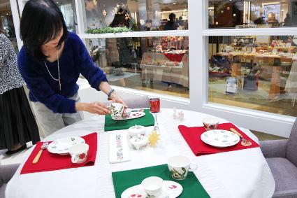松尾摂子さんの器でクリスマスパーティ ~フードクラス&ブラッシュアップBクラス_d0217944_17464496.jpg