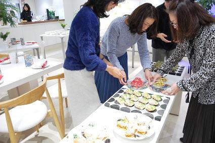 松尾摂子さんの器でクリスマスパーティ ~フードクラス&ブラッシュアップBクラス_d0217944_17465060.jpg