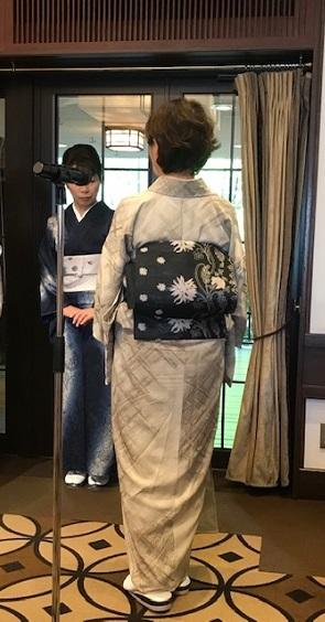 11周年・千地泰弘さんの着物と帯・お嫁入りの雪輪の訪問着。_f0181251_16140722.jpg