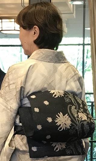 11周年・千地泰弘さんの着物と帯・お嫁入りの雪輪の訪問着。_f0181251_16203659.jpg