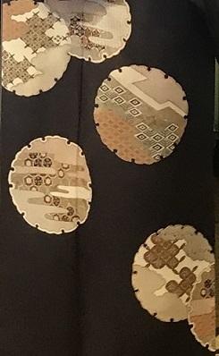 11周年・千地泰弘さんの着物と帯・お嫁入りの雪輪の訪問着。_f0181251_16242708.jpg