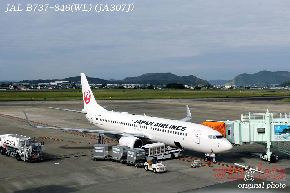 '19年 高知空港レポート ・・・ JAL/JA307J_f0352866_18204978.jpg