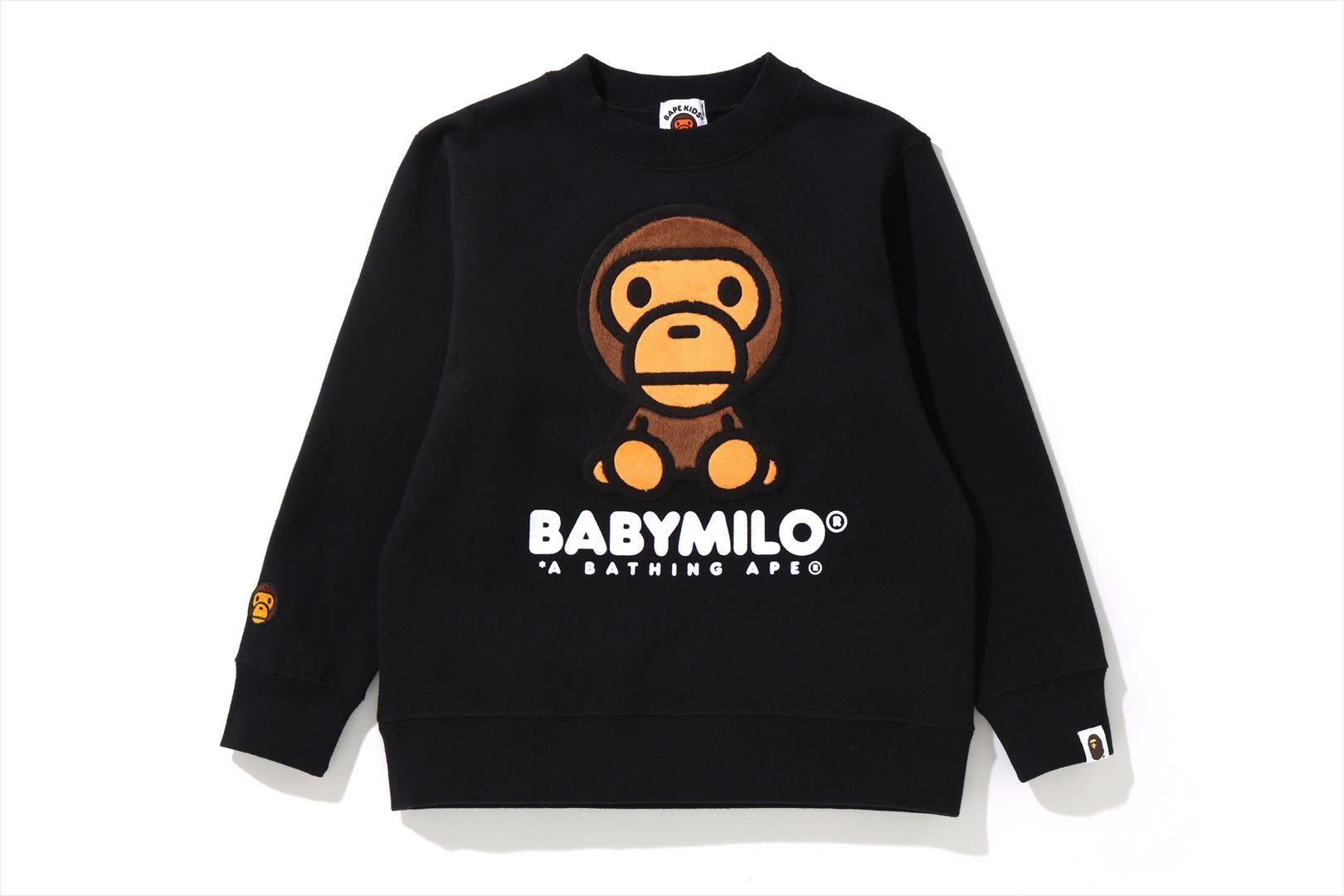 BABY MILO CREWNECK_a0174495_18373198.jpg