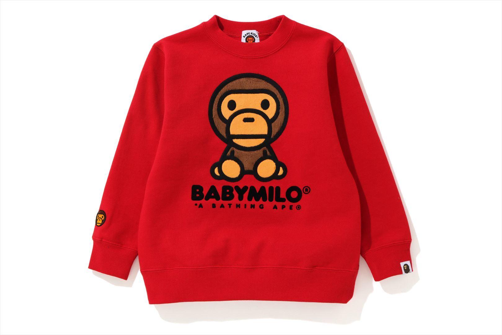 BABY MILO CREWNECK_a0174495_18373993.jpg