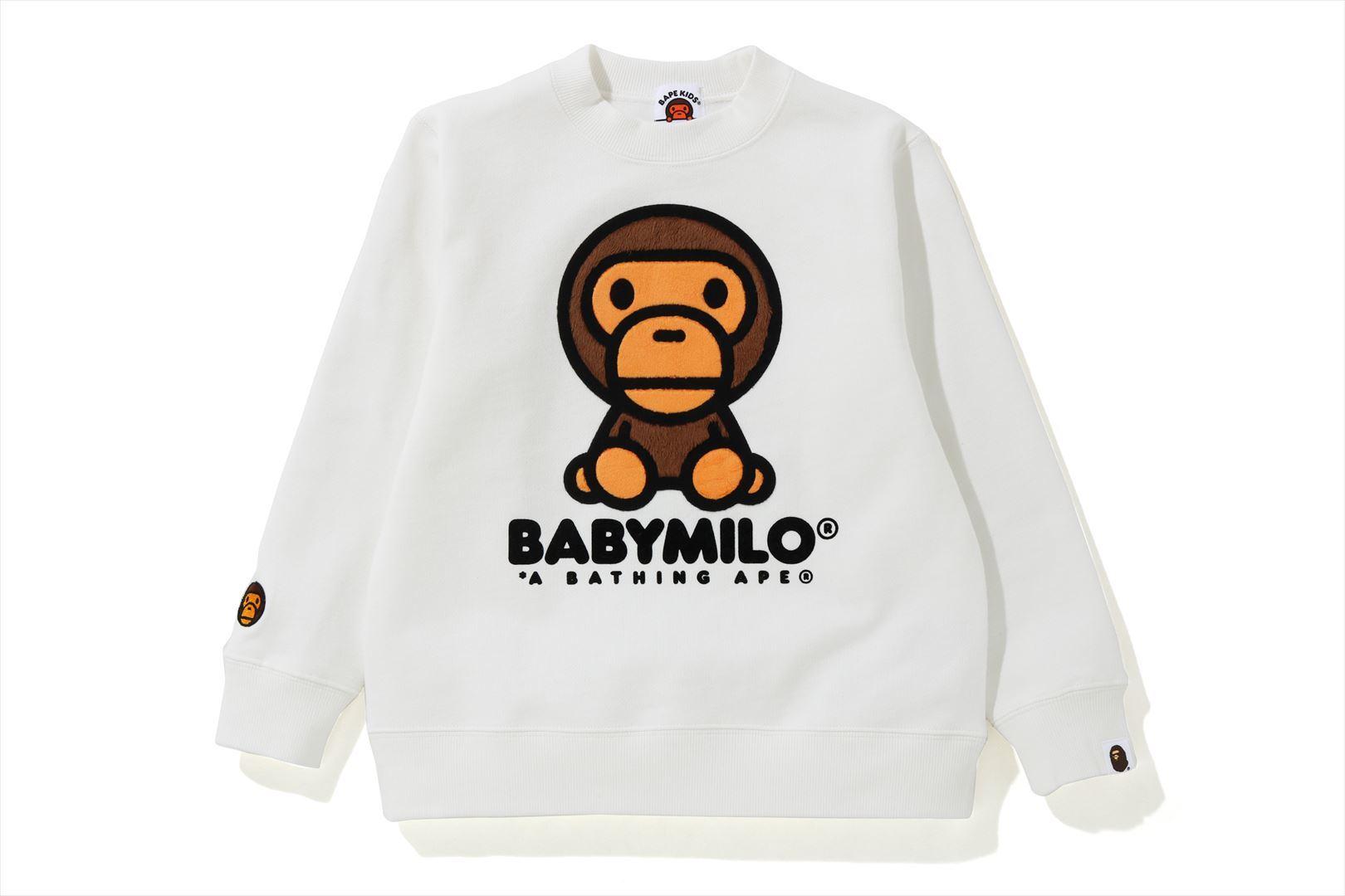 BABY MILO CREWNECK_a0174495_18374582.jpg