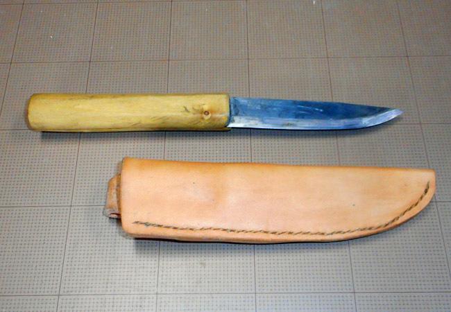 ナイフのシースを作る!_c0081499_19565719.jpg