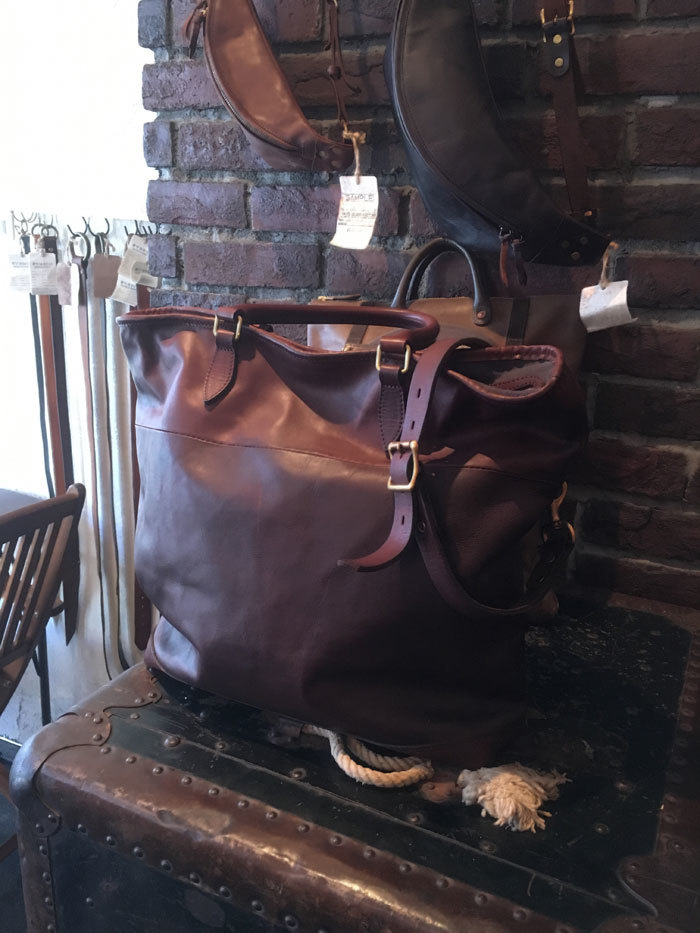 vasco LEATHER NELSON 2WAY BAG BROWN (VS-244L) ご予約受付中_c0196434_15084634.jpg