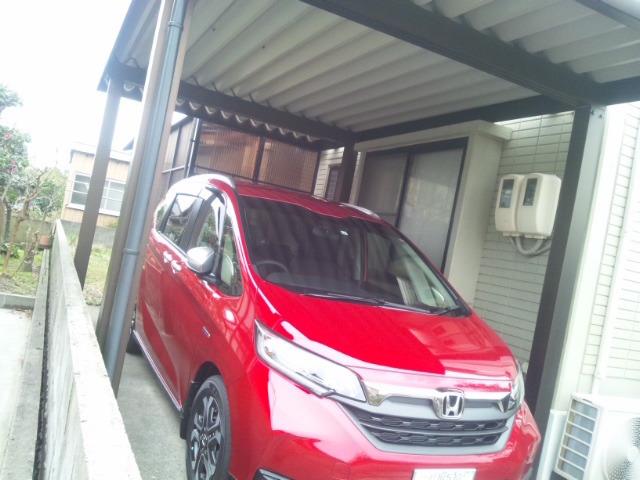 赤い車_d0131255_10375046.jpg