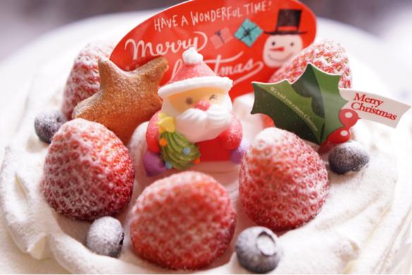 クリスマスケーキ♪_c0169360_18505370.jpg