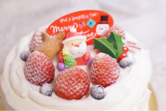 クリスマスケーキ♪_c0169360_18505720.jpg