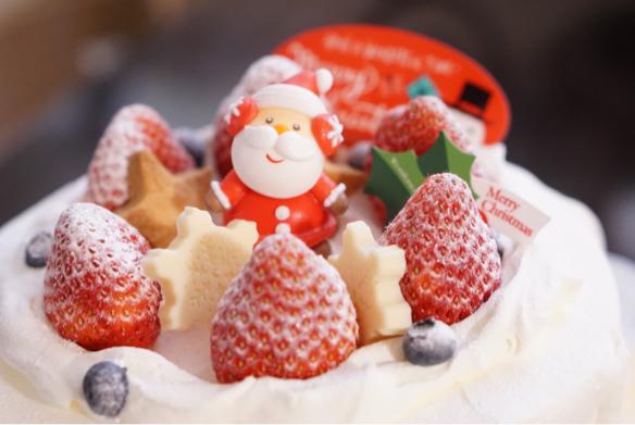 クリスマスケーキ♪_c0169360_18542520.jpg