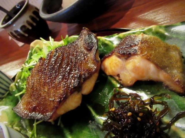 佐久・お料理 いけだ * 美味しいお魚の炭火焼定食♪_f0236260_03212305.jpg