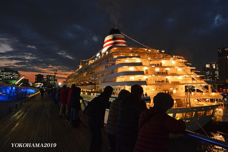 豪華客船お見送り『そうだ 横浜、行こう』②_d0251161_10265232.jpg