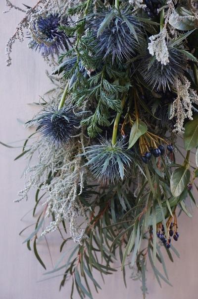 オークリーフ(今年のクリスマスリース)_f0049672_16565230.jpg