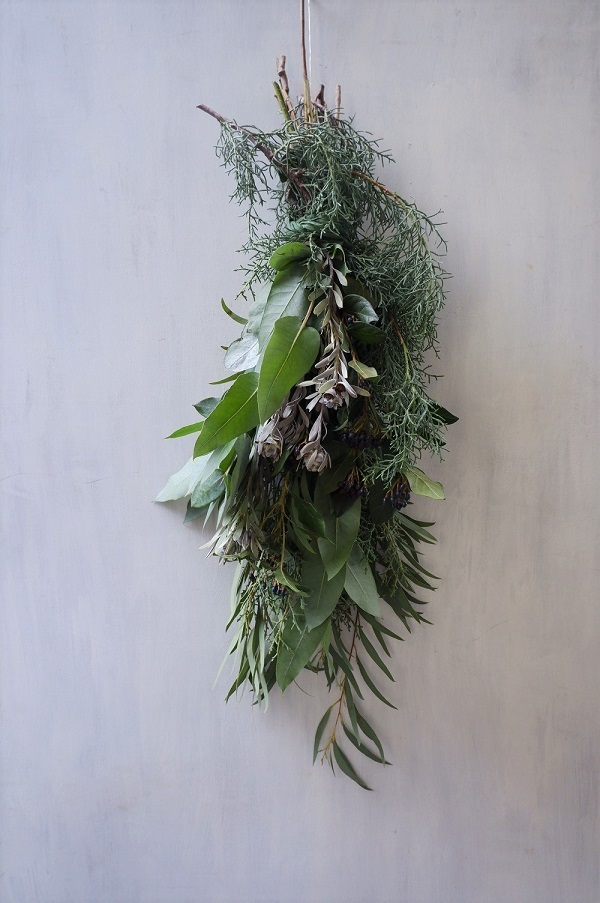オークリーフ(今年のクリスマスリース)_f0049672_16571180.jpg