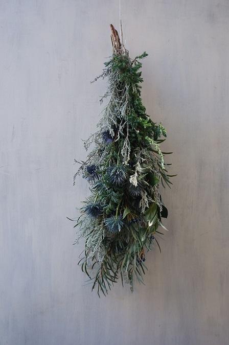 オークリーフ(今年のクリスマスリース)_f0049672_16575318.jpg