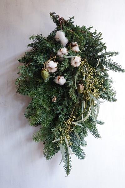 オークリーフ(今年のクリスマスリース)_f0049672_16575851.jpg