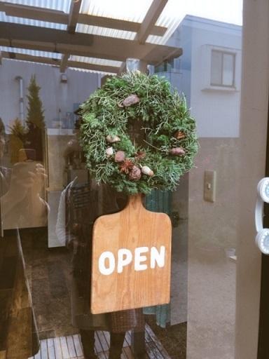 オークリーフ(今年のクリスマスリース)_f0049672_16582082.jpeg