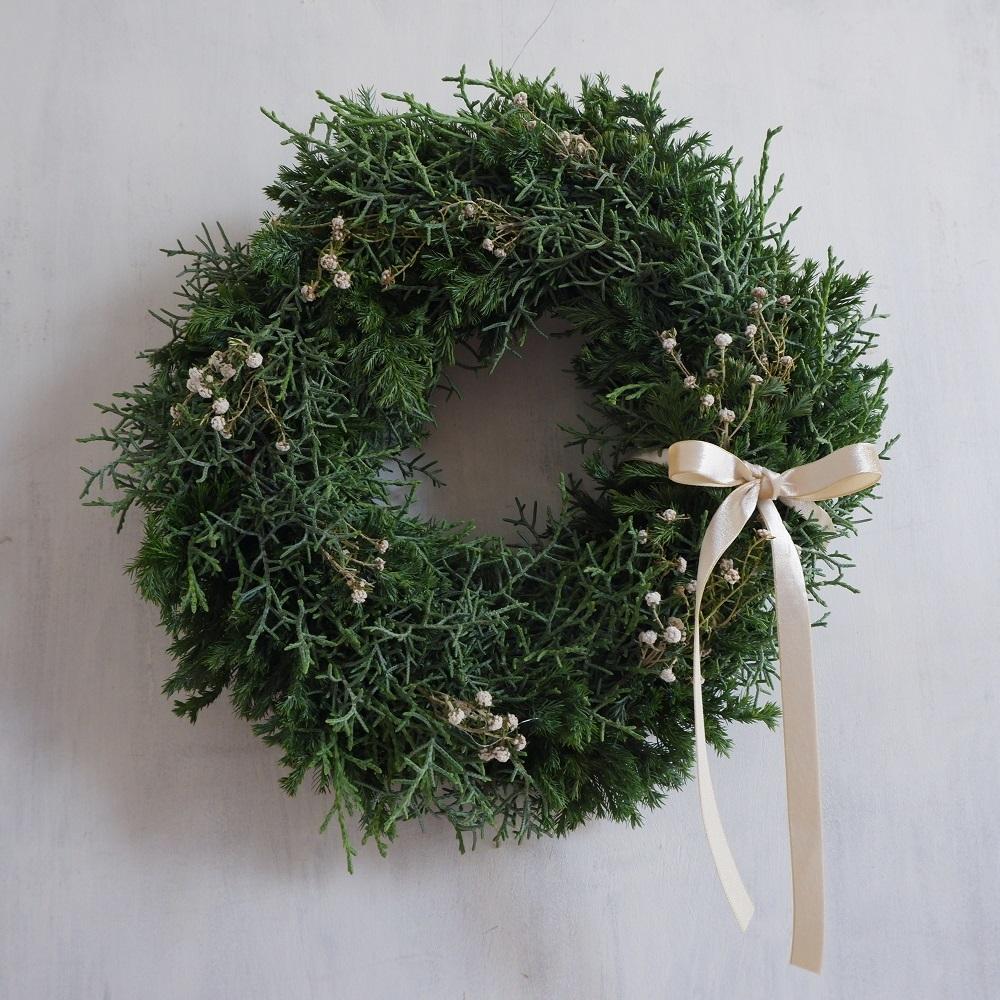 オークリーフ(今年のクリスマスリース)_f0049672_17121989.jpg