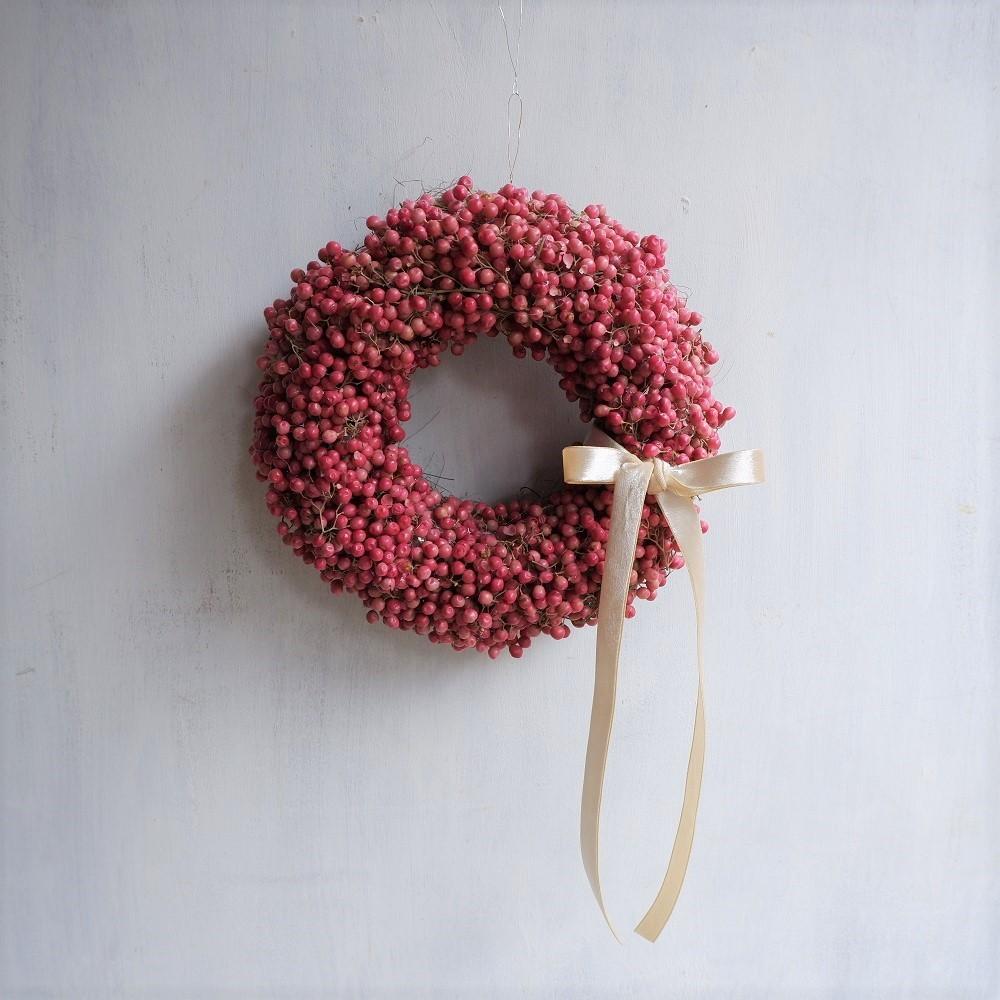 オークリーフ(今年のクリスマスリース)_f0049672_17343549.jpg