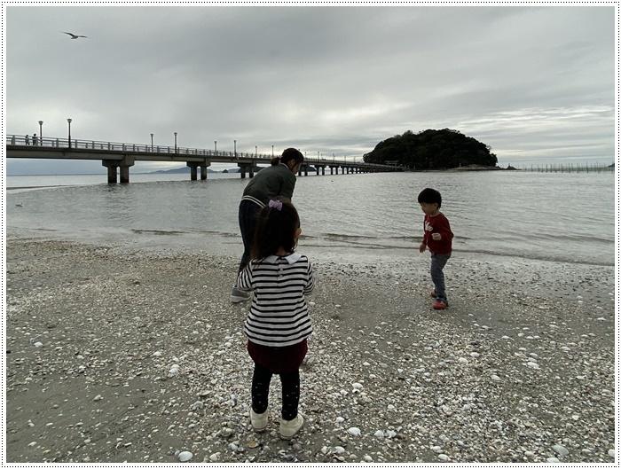 愛知県でのお出かけ その2 竹島海岸と竹島にある八百富神社 (11月24日)_b0175688_21453953.jpg