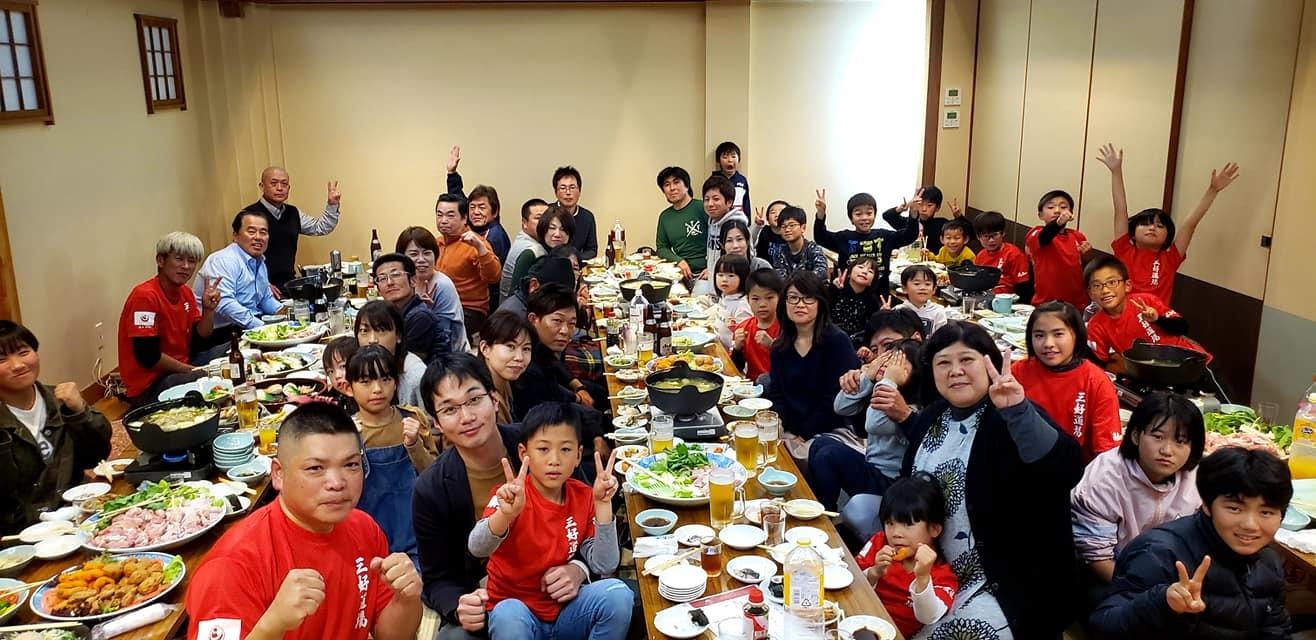 高知県西部に位置する四万十市の昇級審査会と、ご父兄の皆さまも交えての忘年会に出席。_c0186691_15201673.jpg
