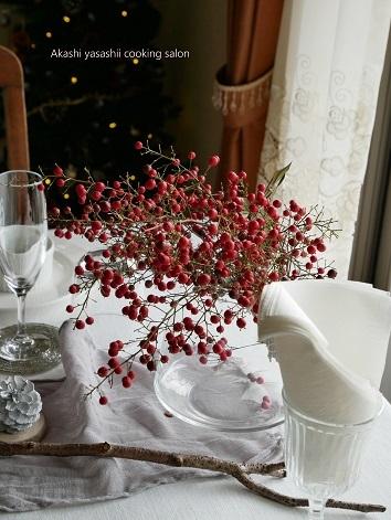 2019.クリスマスレッスン終了です〈テーブルコーディネート〉_f0361692_11444919.jpg