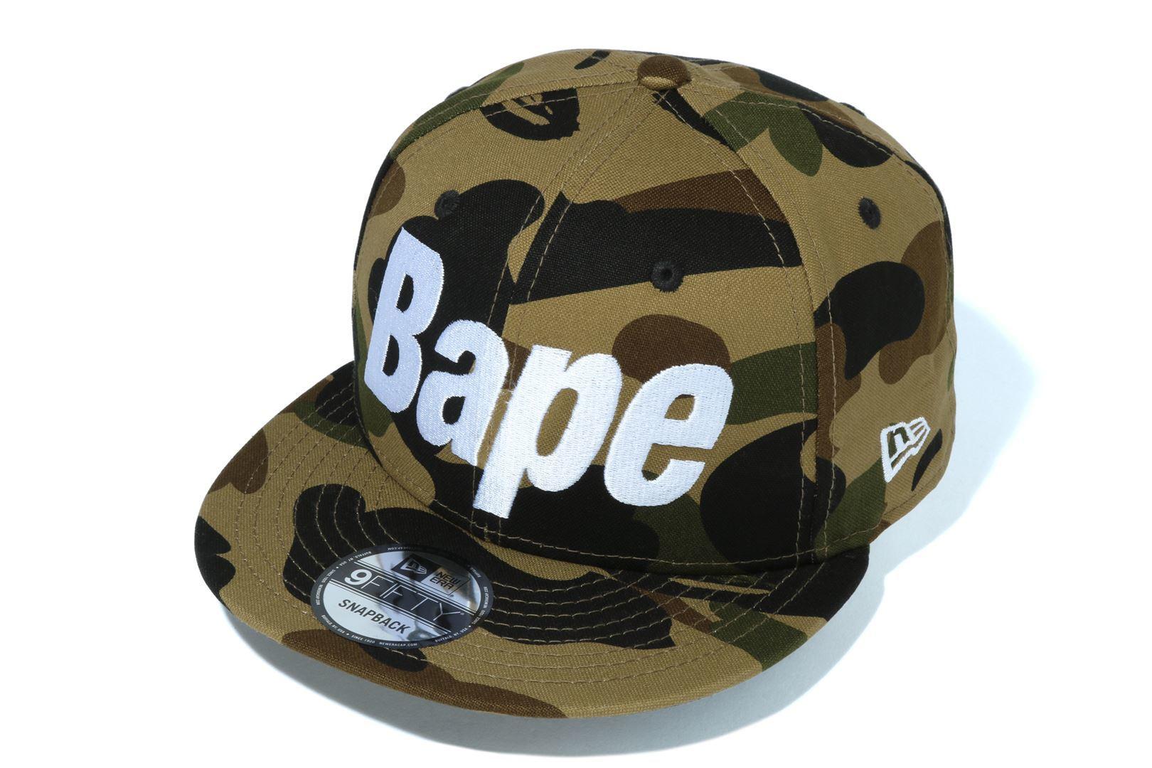 1ST CAMO BAPE NEW ERA SNAP BACK CAP_a0174495_17593528.jpg
