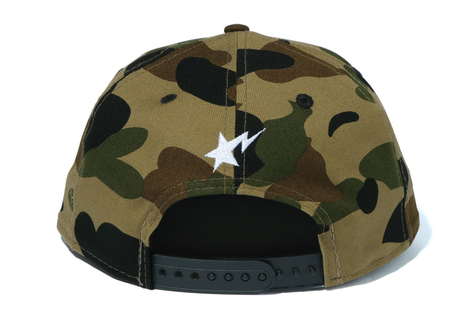 1ST CAMO BAPE NEW ERA SNAP BACK CAP_a0174495_17594136.jpg