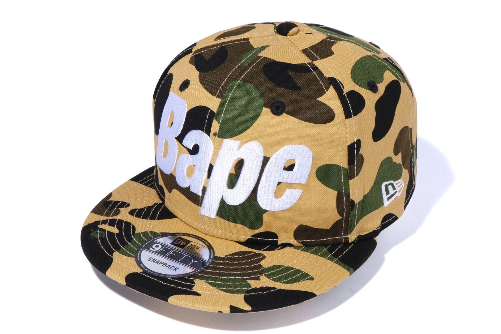 1ST CAMO BAPE NEW ERA SNAP BACK CAP_a0174495_17594654.jpg