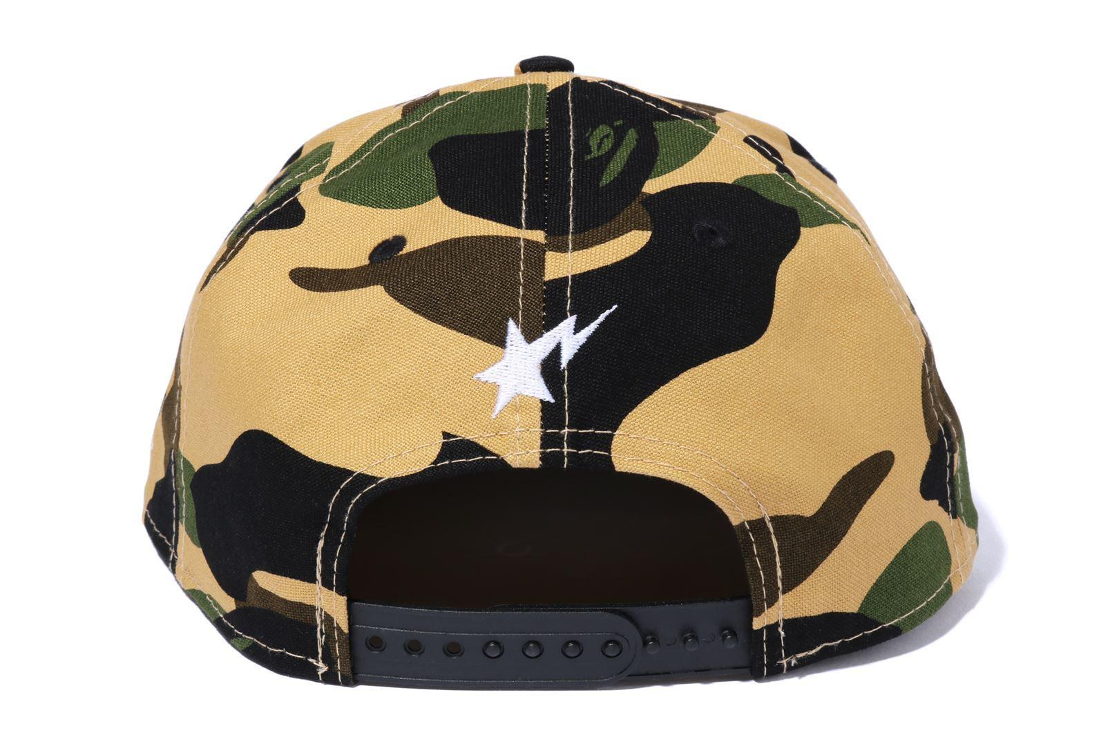 1ST CAMO BAPE NEW ERA SNAP BACK CAP_a0174495_17595255.jpg