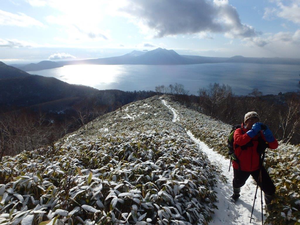 雪の少ないイチャンコッペ山、2019.12.20ーSさんからの写真ー_f0138096_23223755.jpg