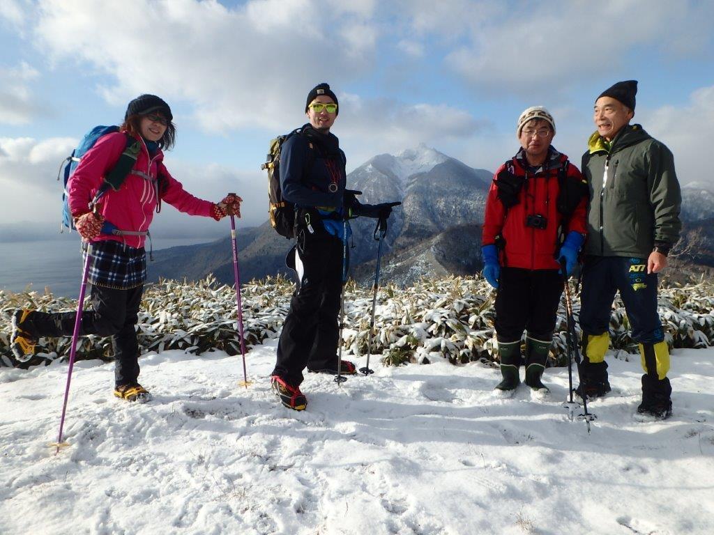 雪の少ないイチャンコッペ山、2019.12.20ーSさんからの写真ー_f0138096_23225509.jpg