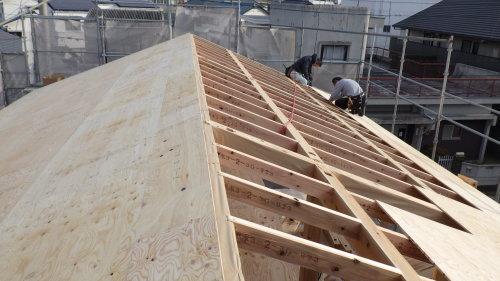Q1住宅L3徳島北島町:ベースセッターと建方_e0054299_23123150.jpg