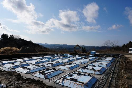 進捗状況「Vin de la bocchi farm & wineryワイナリー建設工事(建築工事)」_d0095305_15424399.jpg