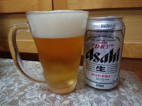 12/22 アサヒスーパードライチルド & ファミマ 冷凍たこ焼_b0042308_14291208.jpg