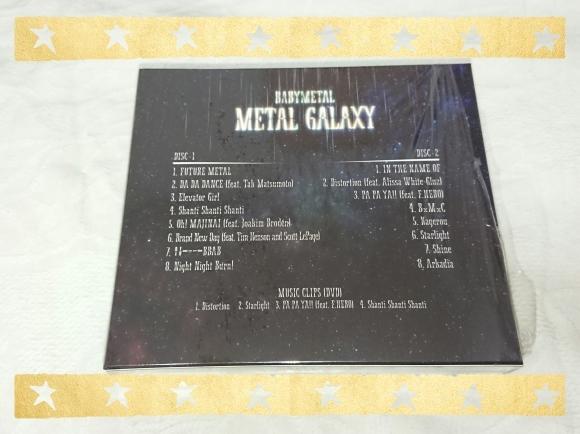 BABYMETAL / METAL GALAXY (初回生産限定盤 Japan Complete Edition)_b0042308_20062003.jpg