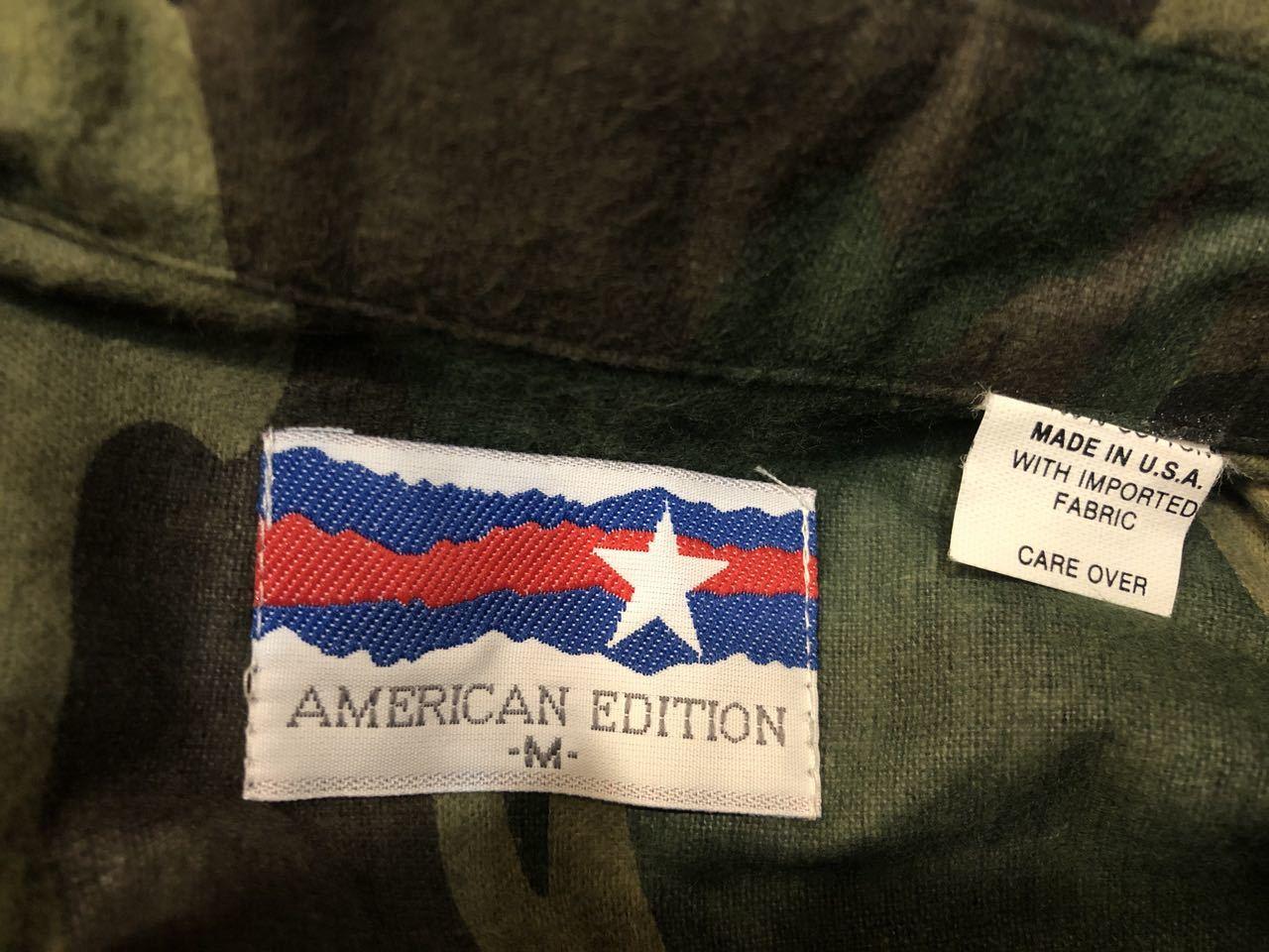 12月23日(月)入荷!80s デッドストック!MADE IN U.S.A  American Edition ライトネルシャツ!_c0144020_13252703.jpg