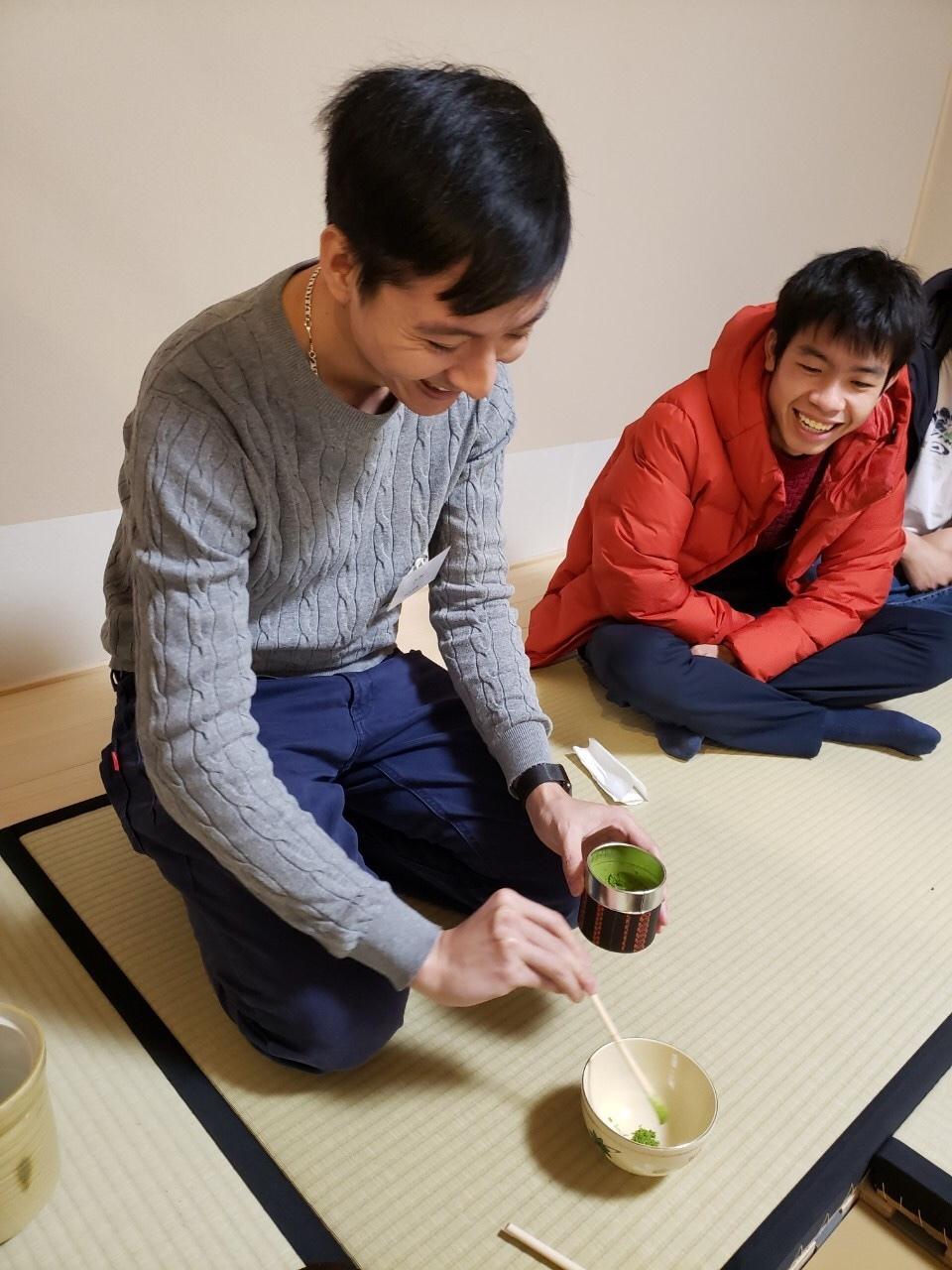 日曜朝教室(2019.12.22)お茶会🍵_e0175020_10025712.jpeg