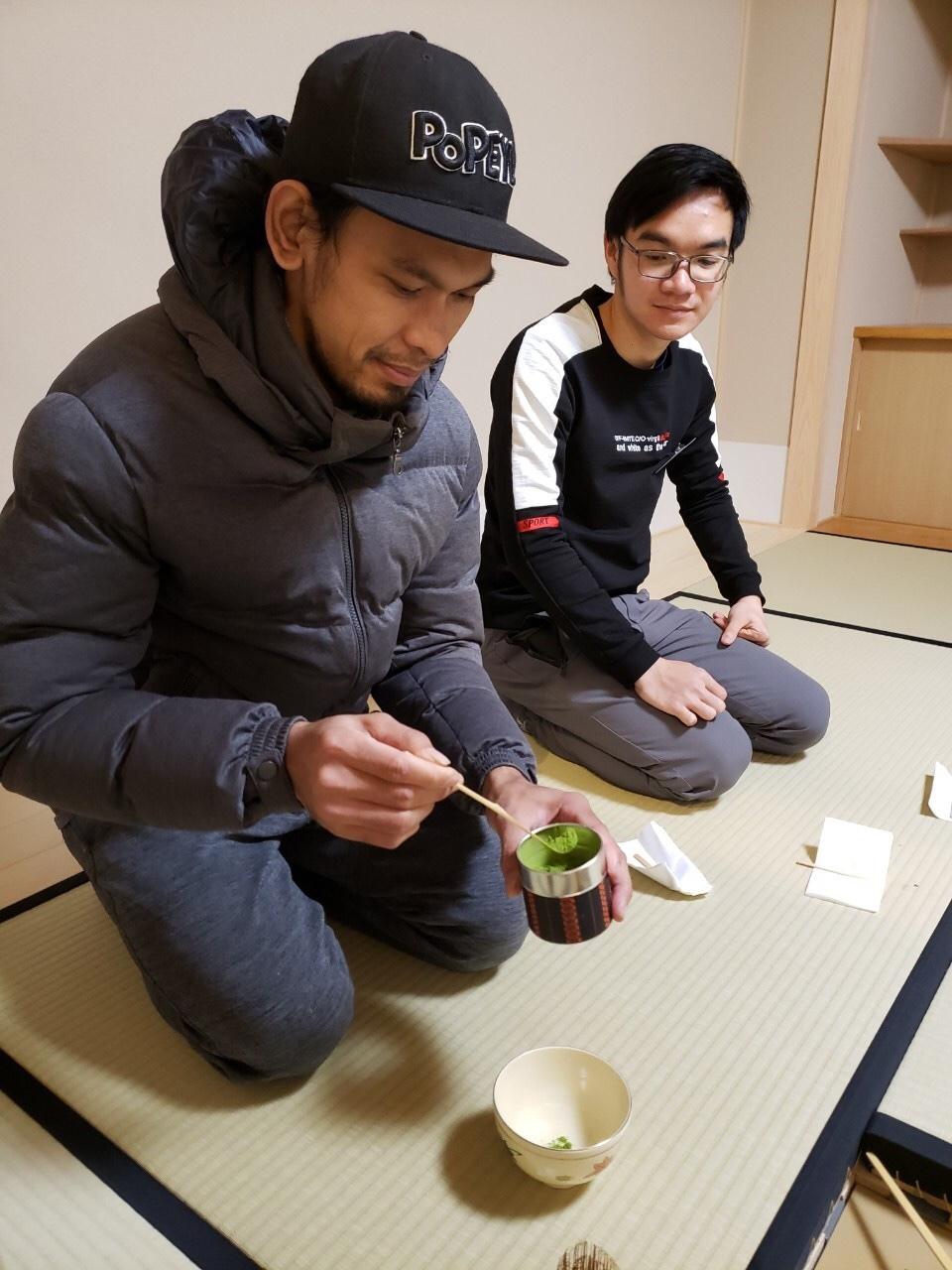 日曜朝教室(2019.12.22)お茶会🍵_e0175020_10035916.jpeg