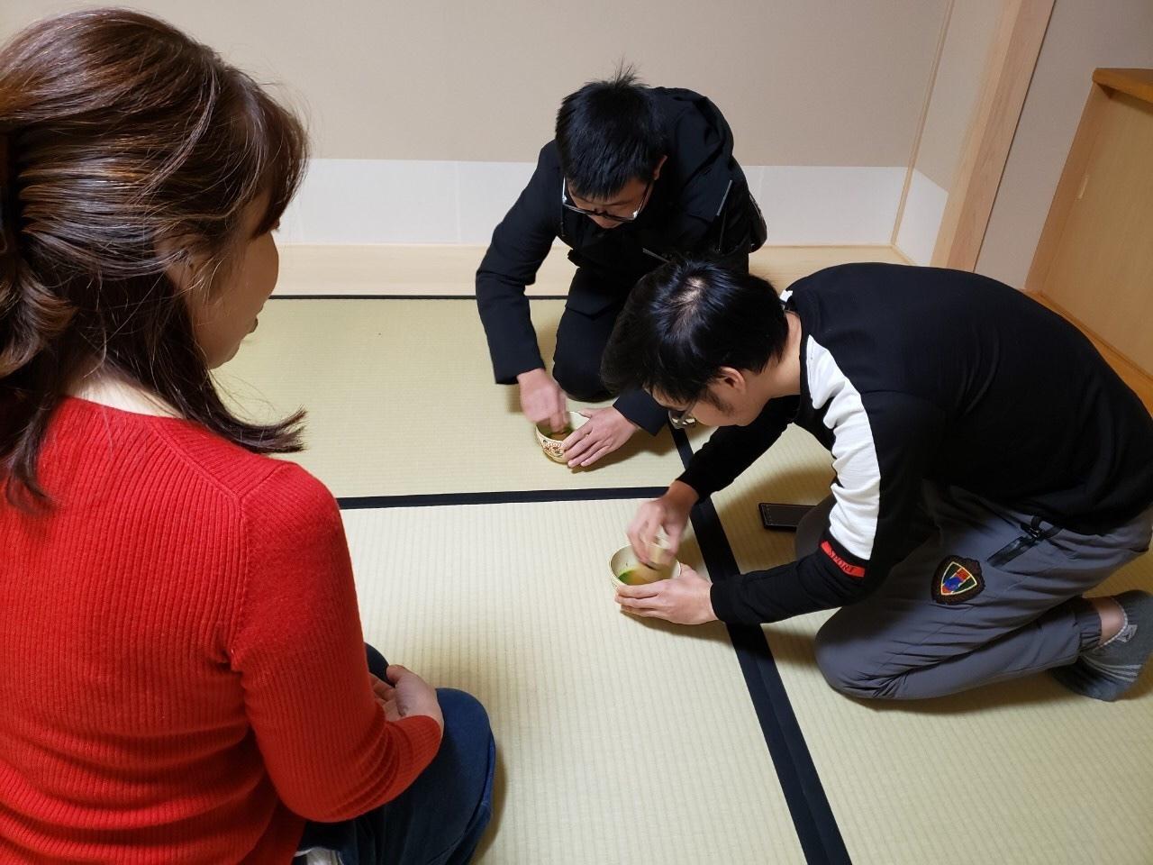 日曜朝教室(2019.12.22)お茶会🍵_e0175020_10052772.jpeg