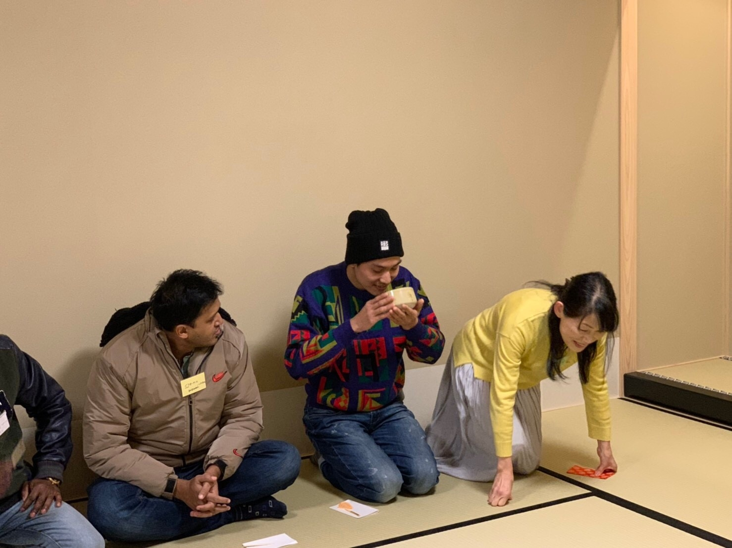 日曜朝教室(2019.12.22)お茶会🍵_e0175020_10121804.jpeg