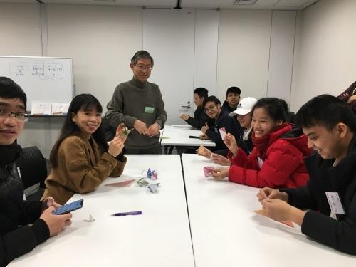 日曜朝教室(2019.12.22)お茶会🍵_e0175020_10142331.jpeg