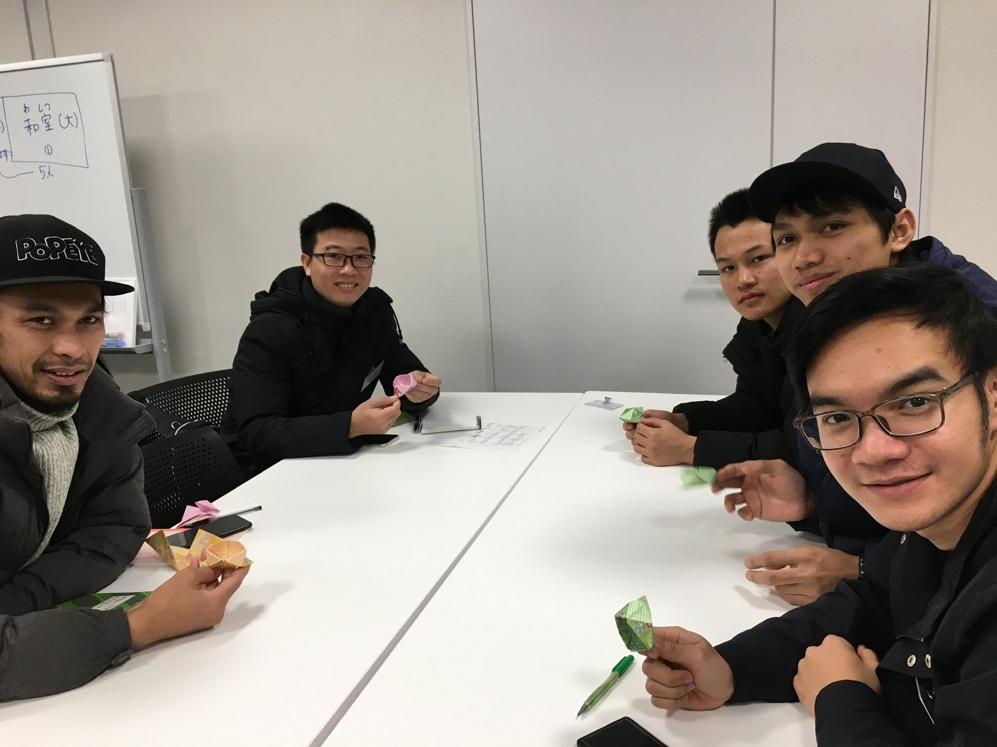 日曜朝教室(2019.12.22)お茶会🍵_e0175020_10153176.jpeg