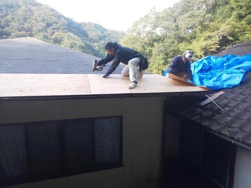 O様邸(安芸太田町)屋根葺き替え工事_d0125228_20035875.jpg