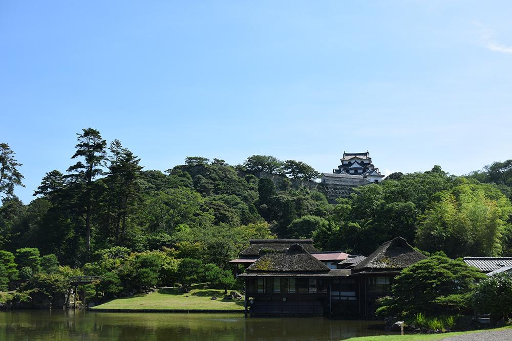 国宝・彦根城を歩く。 その6 <楽々園~玄宮園>_e0158128_20062868.jpg