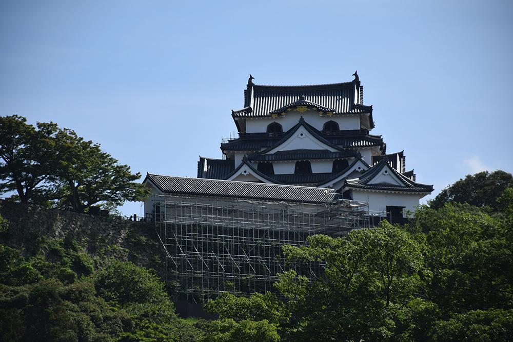 国宝・彦根城を歩く。 その6 <楽々園~玄宮園>_e0158128_20135901.jpg