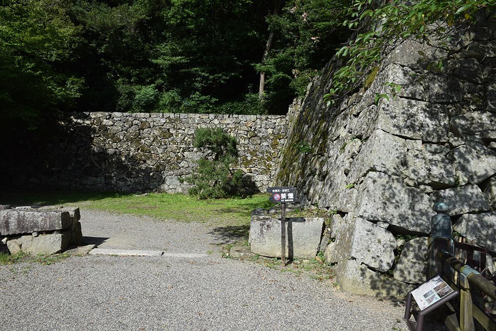 国宝・彦根城を歩く。 その7 <大手門~山崎曲輪>_e0158128_20535784.jpg