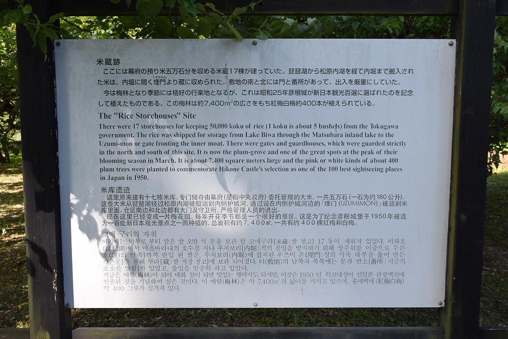 国宝・彦根城を歩く。 その7 <大手門~山崎曲輪>_e0158128_21010618.jpg